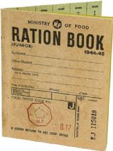 World War Two Ration Book (replica)